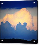 Storm Approaching Painting Acrylic Print