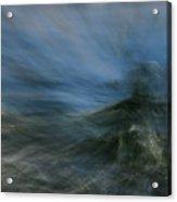 Storm At Sea Acrylic Print