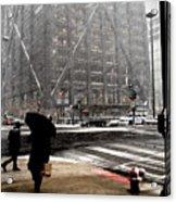 Storm At The Hancock Acrylic Print