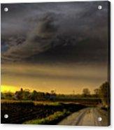 Storm Before Sunset Acrylic Print