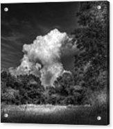 Storm Beyond The Meadow Acrylic Print