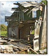 Storm Blown House-1 Acrylic Print