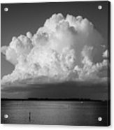 Storm Cloud On The Horizon Acrylic Print
