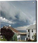 Storm Cloud Over Pigeon Cove Acrylic Print