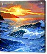Storm Clouds - Catalina Island Acrylic Print