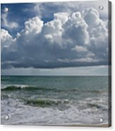 Storm Clouds Above The Atlantic Ocean Acrylic Print