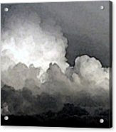 Storm Clouds Are Brewin' Acrylic Print
