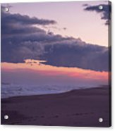 Storm Clouds At Dusk Seaside Nj Acrylic Print