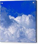 Storm Clouds From Ike Acrylic Print