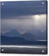 Storm Clouds On The Cuillins Acrylic Print