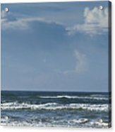 Storm Clouds On The Horizon Ocean Isle North Carolina Acrylic Print
