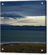 Storm Clouds Over Mono Lake Acrylic Print