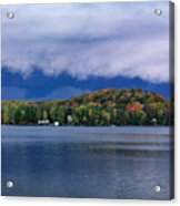 Storm Clouds Over The Lake Of Bays Acrylic Print