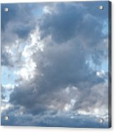 Storm Clouds Passing Acrylic Print