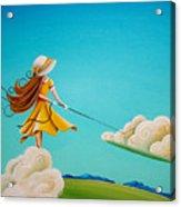 Storm Development Acrylic Print by Cindy Thornton