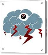 Storm Eye Acrylic Print