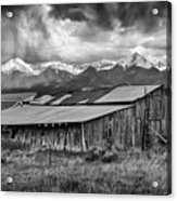 Storm In B And W Acrylic Print