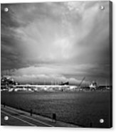 Storm In The City Acrylic Print