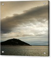 Storm Moving In Over Veli Osir Island In The Morning Acrylic Print