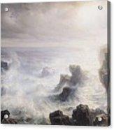 Storm Off The Coast Of Belle Ile Acrylic Print
