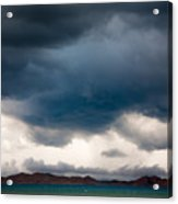 Storm On Karakul Lake Acrylic Print