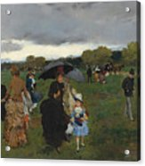 Storm On The Bois De Boulogne Acrylic Print