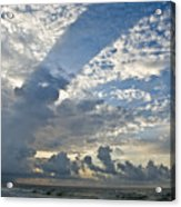 Storm On The Gulf Acrylic Print