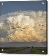 Storm On The Horizon Acrylic Print