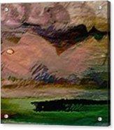 Storm On The Mountain Acrylic Print