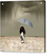 Storm On The Plains Acrylic Print