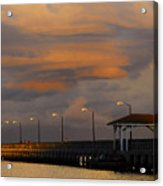 Storm Over Ballast Point Acrylic Print