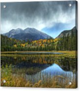 Storm Over Cub Lake Acrylic Print