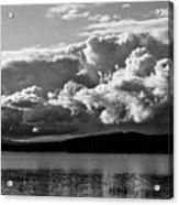 Storm Over Lake Placid Acrylic Print