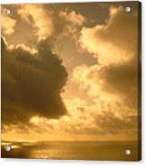 Storm Over Ocean Acrylic Print