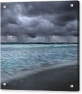 Storm Over Point Moore Acrylic Print
