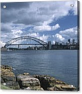 Storm Over Sydney Harbor Acrylic Print