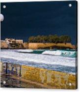 Storm Over The Aegean Acrylic Print