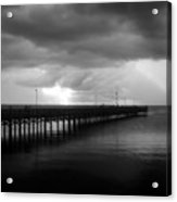 Storm Over The Anclote Acrylic Print