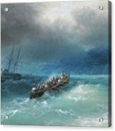 Storm Over The Black Sea Acrylic Print