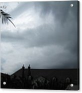 Storm Over The Convent Acrylic Print