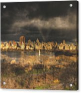 Storm Over The Park Acrylic Print