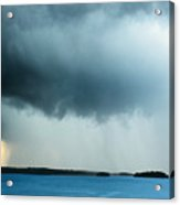Storm Over Water Acrylic Print