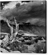 Storm Over Wheeler Crest Acrylic Print