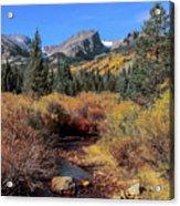 Storm Pass Trail Acrylic Print