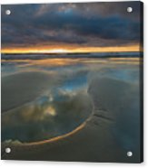Storm Pool Acrylic Print