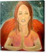 Storm Prayer Acrylic Print
