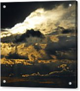 Storm Rolling In Acrylic Print