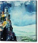 Storm The Castle Acrylic Print