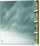 Storm Watchers At Perdido Key Fl Acrylic Print