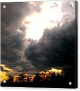 Storm's Coming Acrylic Print